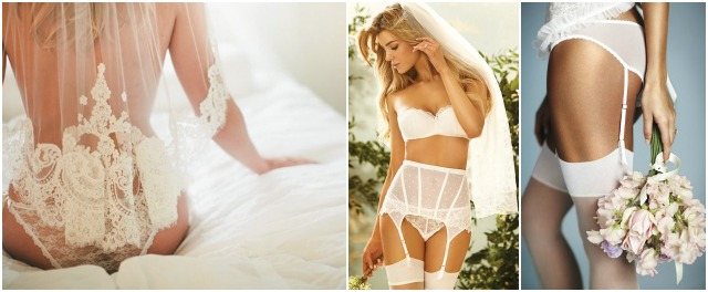 wedding trend - lenjerie