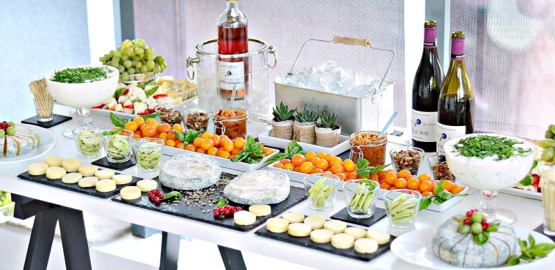 wine and cheese bar, DS Premium Events