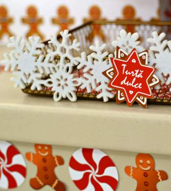 gingerbread party, christmas party, petrecere craciun