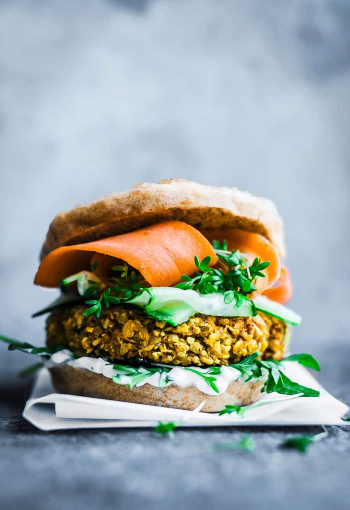 Vegan Bombay Burger - 21 Veggie Burger Recipes