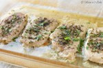 Low-FODMAP Tender Butter & Herb Baked Pork Chops