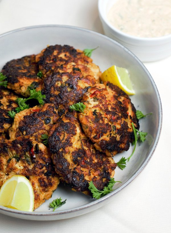 Perfect Salmon Patties with Tangy Remoulade