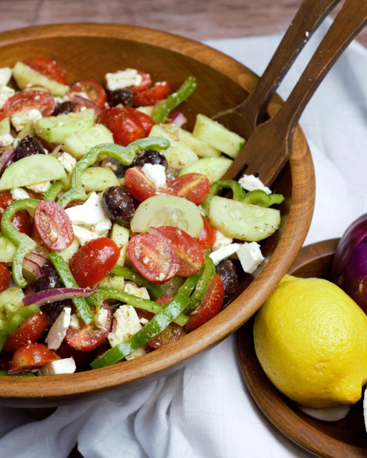 featured image greek salad
