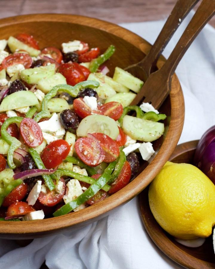 featured image greek salad