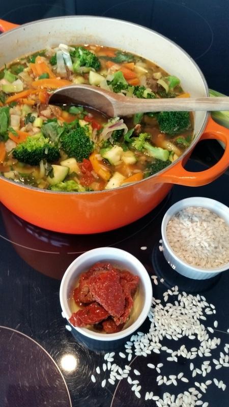 Alles aus einem Topf…Gemüse- Eintopf auf italienisch