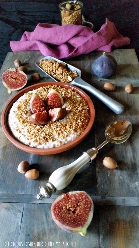 Power- Food…Porridge mit Honig- Feigen und Quinoa- Granola