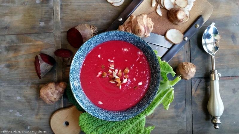 Vegan…Wurzelgemüse- Topinambur- Suppe