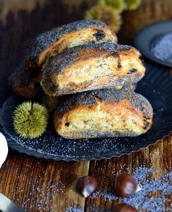 Ingwer- Pflaumen- Zoccoletti für den World Bread Day 2020