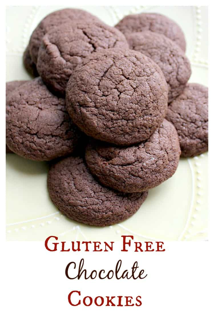 The best gluten free chocolate cookie recipe I've tried yet! They are delicious on their own or you can mix in chips, nuts, dried fruit, or whatever you please! So good - bet no one will even know they are gluten free! | www.OurLittleEverything.com