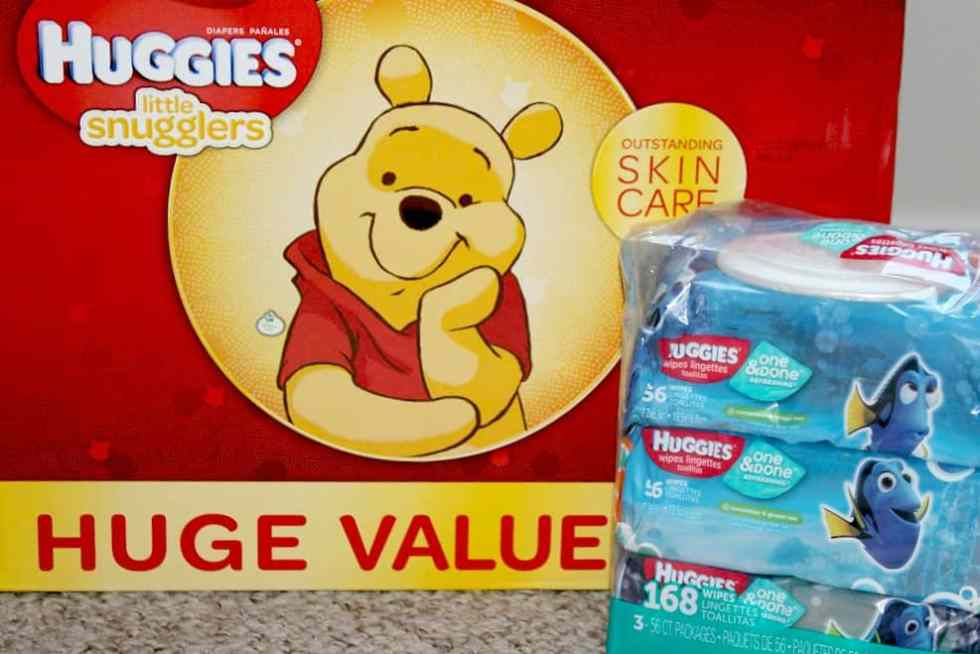 Huggies Diapers and Wipes