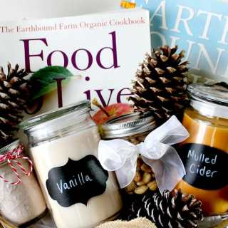 How to Make A Rustic Holiday Gift Basket