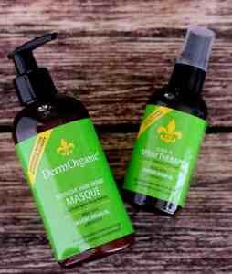 DermOrganic Intensive Hair Repair Masque Review + Shine Spray