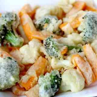 Simple Wasabi Vegetable Tempura