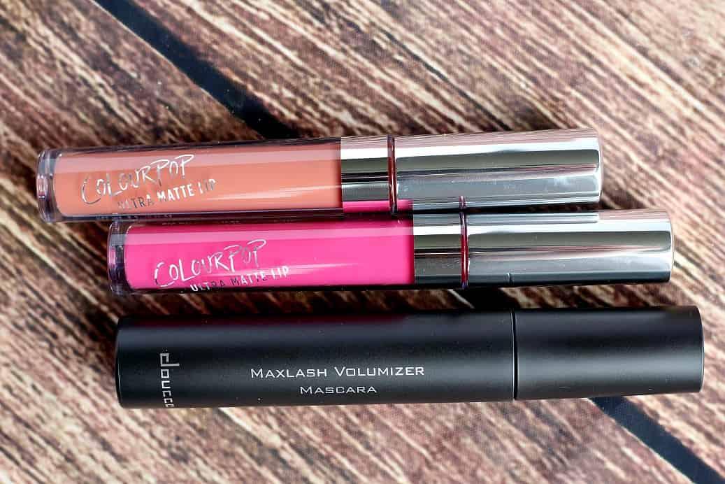 Lip Gloss and Mascara