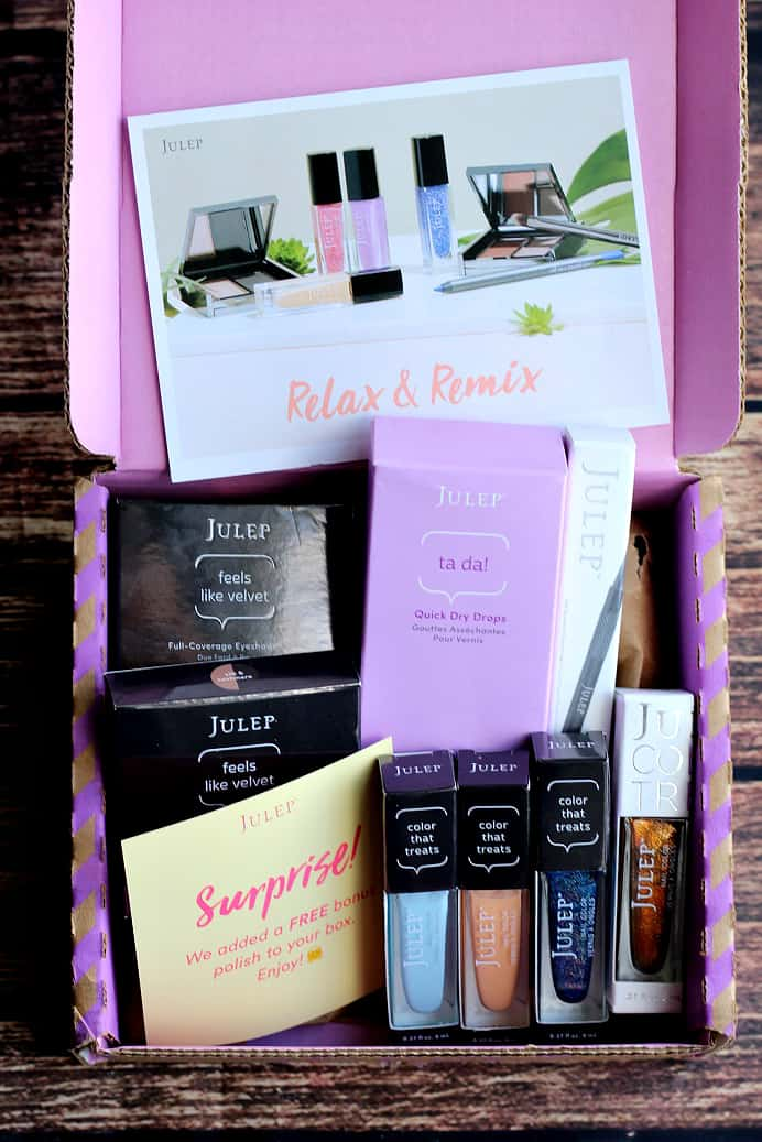 April 2017 Julep Subscription Box Review + 3 FREE polishes code ...