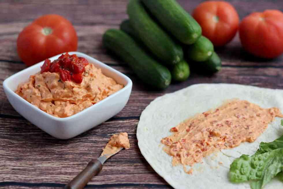 Use as a spread on wraps and sandwiches!