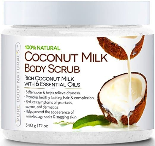 Pure Body Naturals Coconut Milk Body Scrub