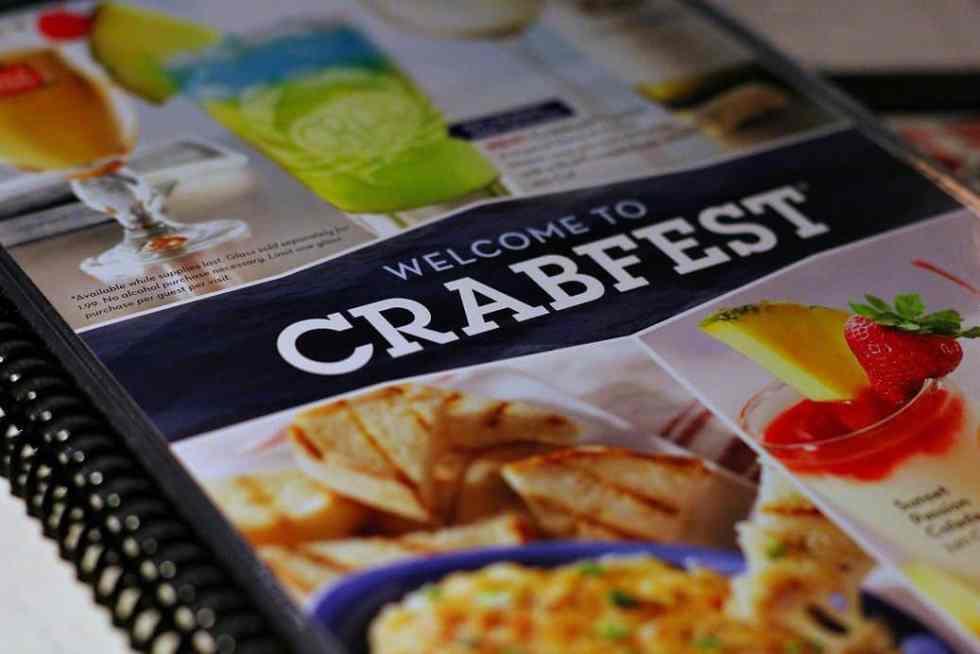 2017 Red Lobster Crabfest Menu