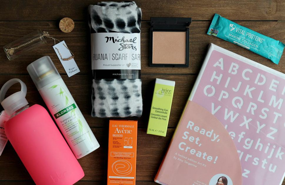 2017 Summer FabFitFun Box Contents