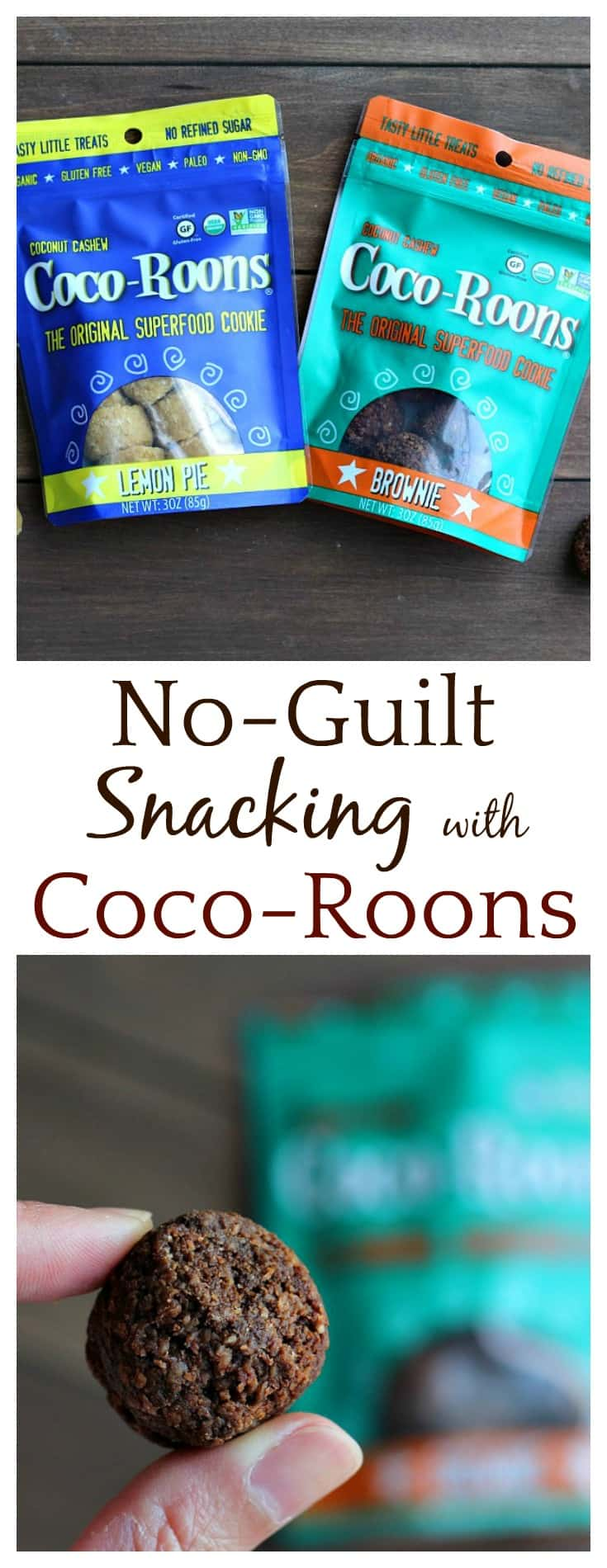 Sejoyia Coco-Roons Cookies make feeling guilty about snacking a thing of the past! These are the original superfood cookies and come in delicious flavors like lemon pie and brownie!
