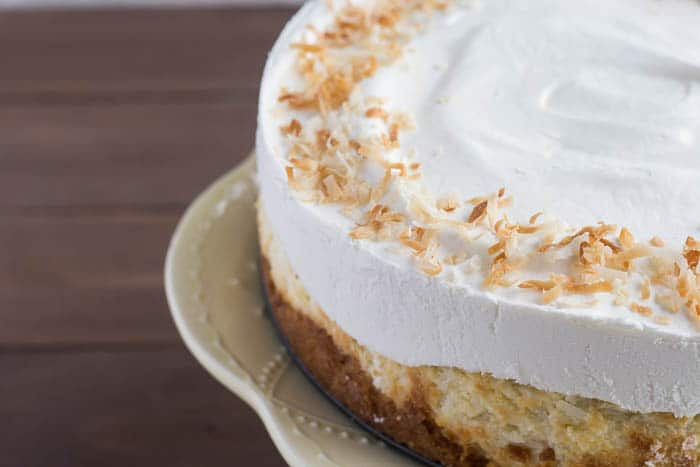 Whipped Cream and Toasted Coconut Topping