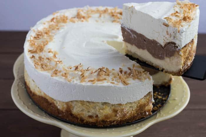Cutting a Slice of Cheesecake