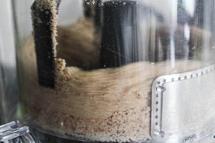 NutraMilk Making Almond Butter