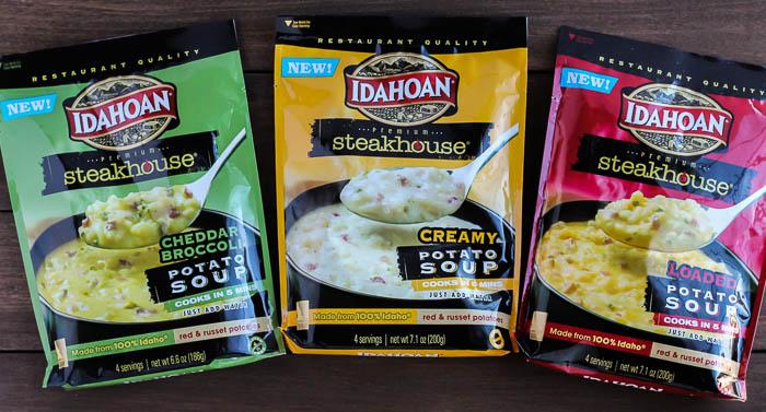 Idahoan Steakhouse Potato Soups