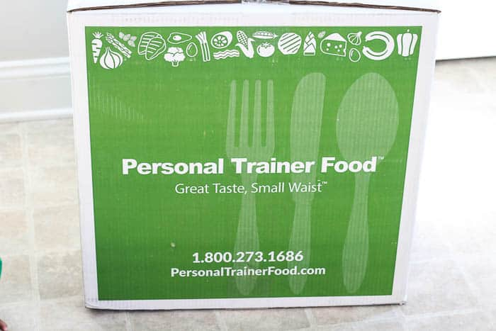 Personal Trainer Food Meal Subscription Box
