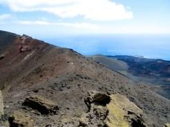Volcán San Antonio caldera