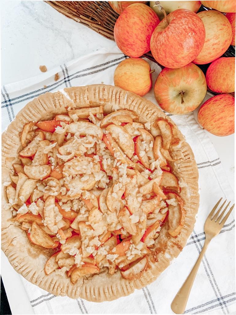 How to Make Honey Crisp Apple Pie (Gluten Free + Vegan)