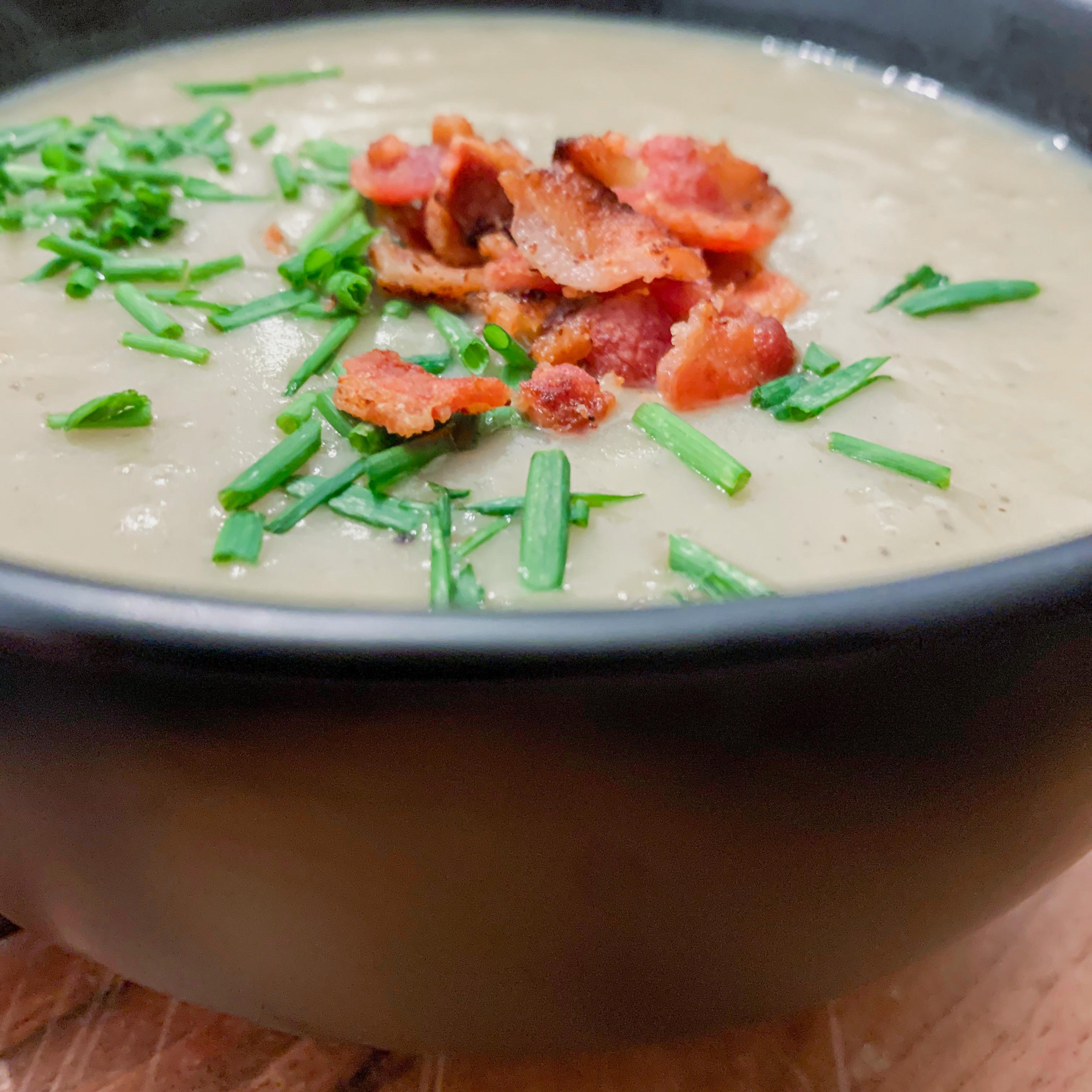 Instant Pot: Potato Leek Soup