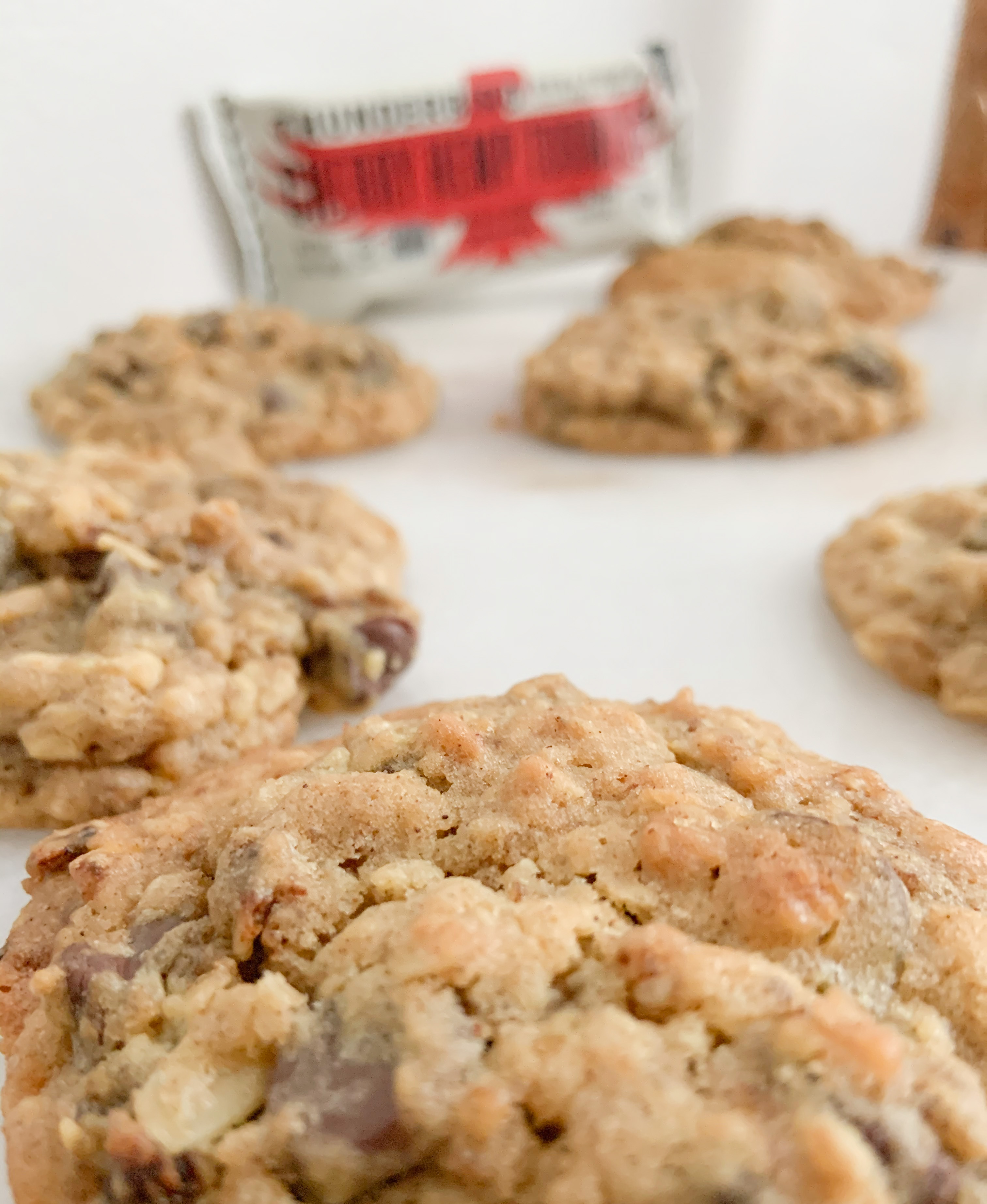 Gluten-Free Thunderbird (Cherry Hemp Turmeric) Bar & Chocolate Chip Oatmeal Cookies!