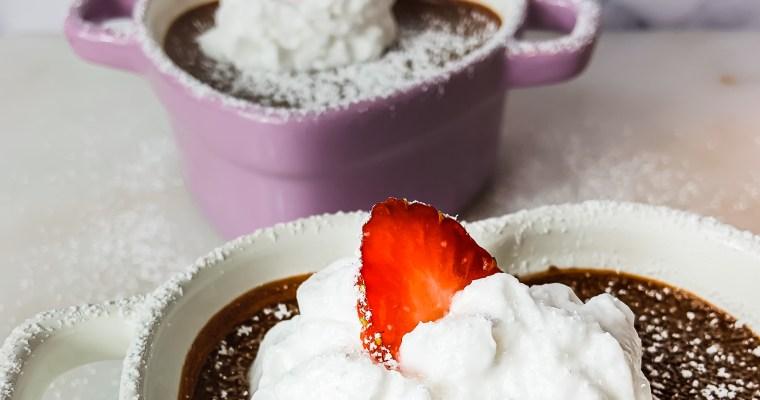 Easy Vegan Chocolate Pudding(Dairy-Free & Paleo)
