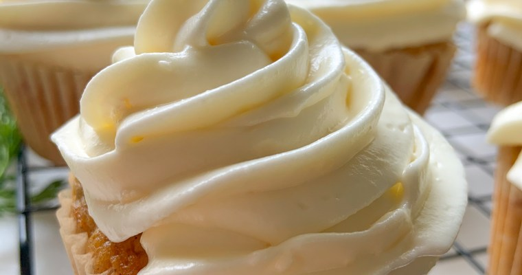 The Perfect Lemon Cream Cheese Frosting (Lactose Free)