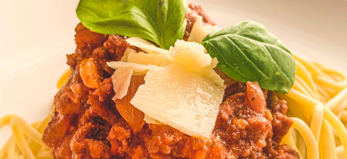 Homemade Spaghetti Meat Sauce