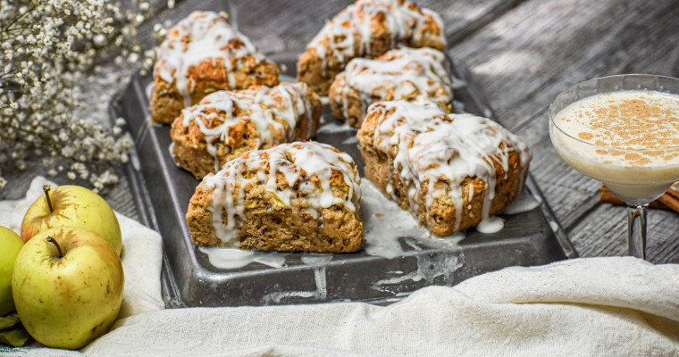 Apple Walnut Scones
