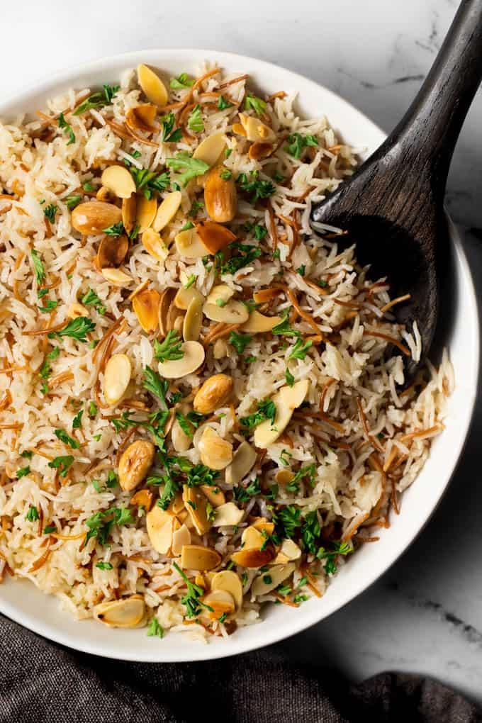 Instant Pot Lebanese Vermicelli Rice