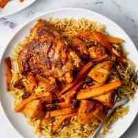 Middle Eastern Chicken Pilaf