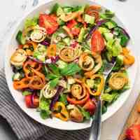 Authentic Fattoush Salad