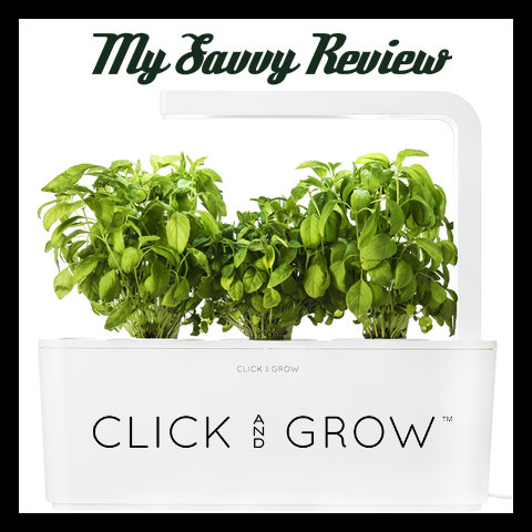 my savvy review of click and grow the future of food is here plus save 30 on your first unit. Black Bedroom Furniture Sets. Home Design Ideas