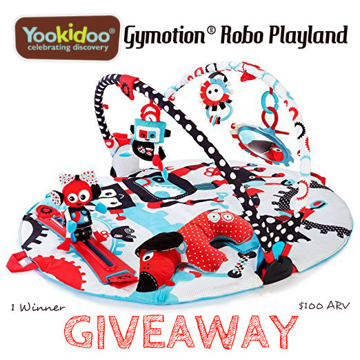 Yookidoo Gymotion® Robo Playland Giveaway! ($100 RV)
