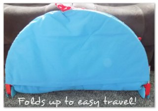 Folds up so that you can take anywhere!