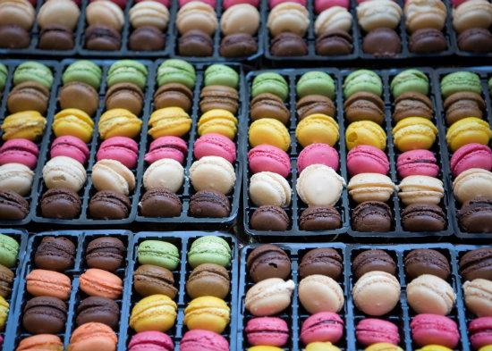 Macarons, Paris