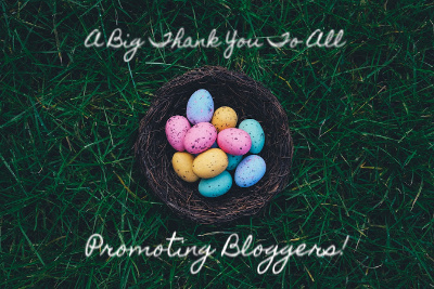 A big thank you to all promoting bloggers image