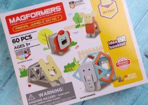 Magformers 60-piece Animal Jumble Set image