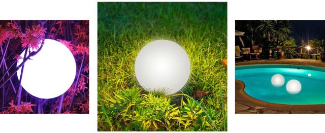"LOFTEK 8"" LED Multi-Use Color Changing Ball Lights"