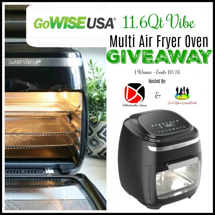 Vibe Multi Air Fryer Oven Giveaway