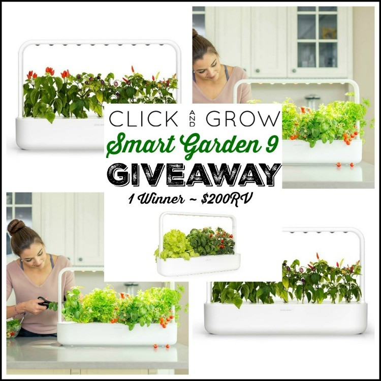 Click and Grow Smart Garden 9 Giveaway