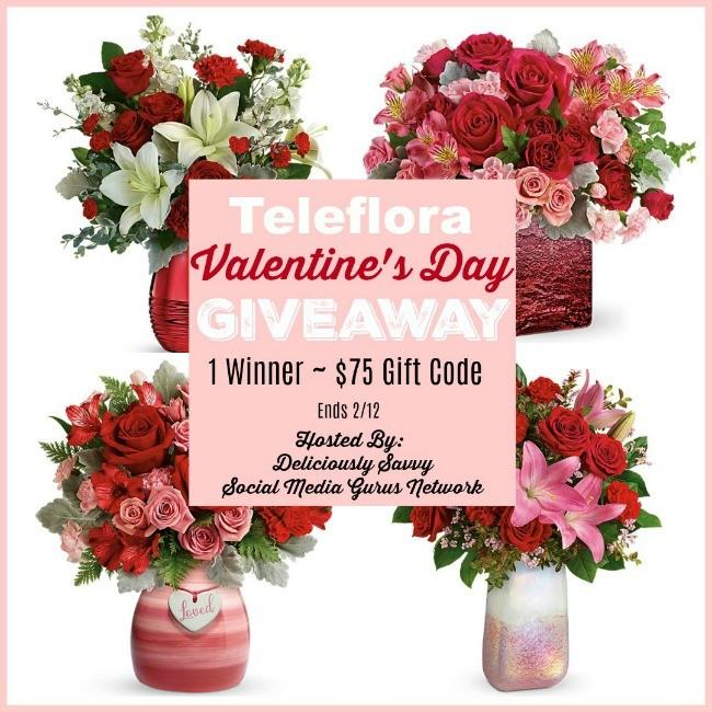 Teleflora Valentine's Day Giveaway